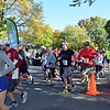 Approximately 150 participants took part in Firkin's 5k & 1 ml walk Whites Road Park, Lansdale on Saturday, October 15, 2016. photo by Debby High for The Reporter