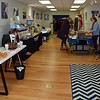 Local artisans and merchants share their wares at the Pop Up Shop at Per Diem in Perkasie Saturday, Feb. 18.  Debby High — For Digital First Media