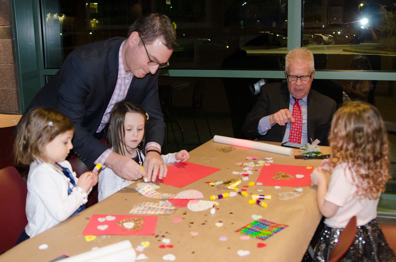 Upper Dublin Township hosts its eighth annual Valentine's Father-Daughter Dance Feb. 3 at the Upper Dublin Township Building. Fathers and daughters enjoyed an evening of dancing, refreshments, photo booths and Valentine's crafts. Christine Wolkin — For Digital First Media