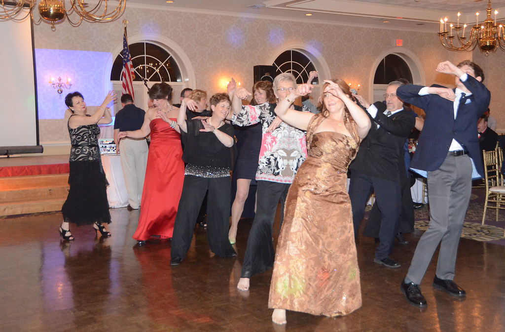 . The Greater Hatboro Chamber of Commerce honors its Service to Community award winners at the biennial Borough Ball March 4 at Spring Mill Country Club in Ivyland.  Christine Wolkin � For Digital First Media