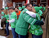 Pub crawlers greet each other at the McDonald house, Lansdale for a group photo March 18, 2017. (Bob Raines--Digital First Media)