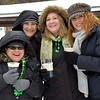 Attendees enjoy a beer during the Pennridge Celtic Fest at the Sellersville Fire Company Picnic Grove Saturday, March 18.  Debby High — For Digital First Media