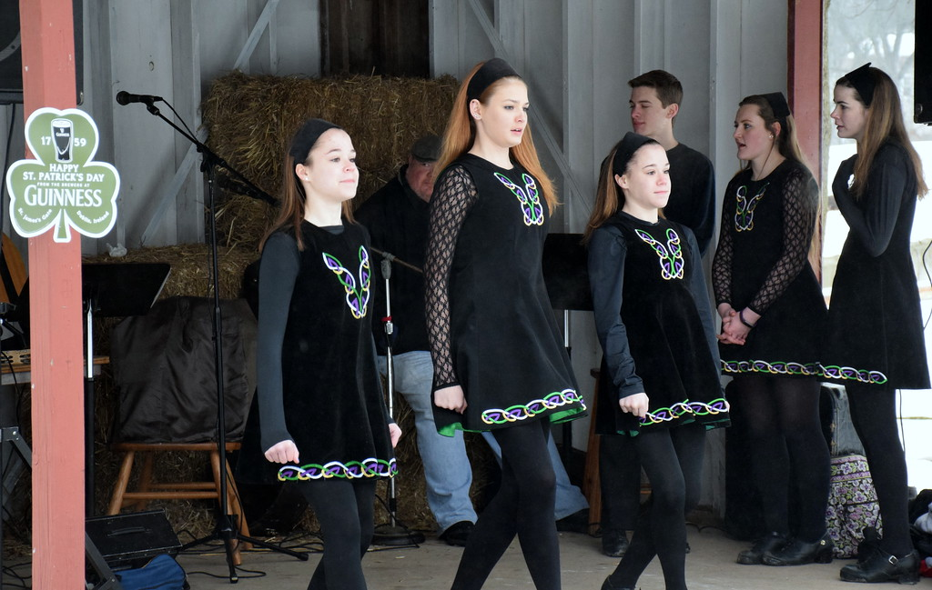 . Fitzpatrick Dance of Doylestown performs at the Pennridge Celtic Fest at the Sellersville Fire Company Picnic Grove Saturday, March 18.  Debby High � For Digital First Media