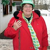 Pennridge Chamber of Commerce Executive Director Betty Graver attends the Pennridge Celtic Fest at the Sellersville Fire Company Picnic Grove Saturday, March 18.  Debby High — For Digital First Media