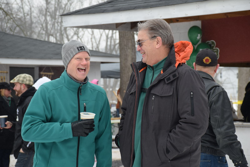 Attendees enjoy the Pennridge Celtic Fest at the Sellersville Fire Company Picnic Grove Saturday, March 18.  Debby High — For Digital First Media