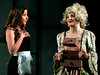 "Madame de la Grande Bouche (Annaliese Pfeiffer), right, and Babette (Katie Brady-Gold) hope their magical imprisonment will soon be over and they can be""Human Again."" April 5, 2017.  (Bob Raines / Digital First Media)"