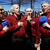"""(Bob Raines--Digital First Media)___<br /> The North Pennsmen Barbershop Chorus sings """"Take Me Out To The Ball Game."""""""