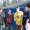 "Cheltenham High School's Sons of Pitch sing ""The Star-Spangled Banner.""  Rachel Wisniewski — For Digital First Media"
