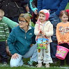 Families patiently waiting for the hunt to begin Saturday morning at Faith at Sellersville's annual Easter Egg-Splosion. Debby High for Digital First Media  Debby High — Digital First Media