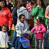 Children await the start of the Easter egg hunt at Faith at Sellersville's annual Easter Egg-Splosion Saturday, April 15.  Debby High — Digital First Media
