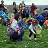 Youngster hunt for Easter eggs during Faith at Sellersville's annual Easter Egg-Splosion Saturday, April 15.  Debby High — Digital First Media