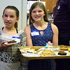 Young volunteers serve desserts annual free community Easter dinner at Grace Bible Church in Souderton Saturday, April 15.  Debby High — For Digital First Media