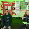 The Pennridge Central Middle School Odyssey of the Mind team participates in the Perkasie popup park. Pictured are members Thomas Reid, Gavin Kubler and Ashton Muhlig.  Debby High — For Digital First Media