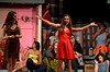 Despite the July heat and the power outage Daniela (Juliet Kennedy) decides it's just the time for a Carnaval del Barrio.  (Bob Raines/Digital First Media)