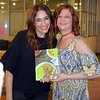 Elina Fuhrman, chef and founder of Soupelina, and Jill Strickland, owner of FROX, appear together at Sister U's Best Foot Forward event. Fuhrman spoke at the conference, while FROX clothing was feature in the event's fashion show.  Debby High — For Digital First Media
