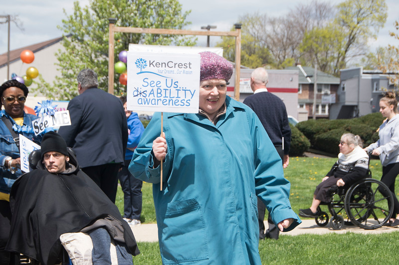 State Rep. Thomas Murt, R-152, hosts a walk to raise awareness about disabilities at Hatboro Baptist Church in Hatboro April 29. Christine Wolkin — For Digital First Media