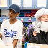 """Miles Goodwin, left, performs his speech as baseball player Jackie Robinson while his classmate, Ethan Shore, performs as morse code inventor Samuel Morse. Both Goodwin and Shore systematically hold up symbolic items, part of their""""time capsule"""" dioramas, to signify important events in their characters' lives.  Rachel Wisniewski — For Digital First Media"""