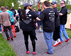 Four walkers link arms for mutual support as they take part in the Walk A Mile In Her Shoes event benefitting Laurel House in Heebner Park, Worcester May 6, 2017.  (Bob Raines/Digital First Media)