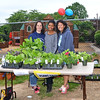 Parents Kathleen Miller, left, Kim McGlonn and Christian Soltysiak sell plants at the Jenkintown Red and Blue Fair at Jenkintown Elementary School May 20.  Christine Wolkin — For Digital First Media