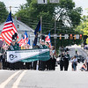 The Pennridge High School Marching Rams lead the Pennridge area Memorial Day parade in Sellersville Saturday, May 27.  Jeff Davis — For Digital First Media