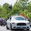 Led by a Perkasie police vehicle, members of the American Legion Riders Post 255 in Sellersville take part in the Pennridge area Memorial Day parade Saturday, May 27.  Jeff Davis — For Digital First Media