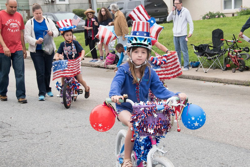 The Arthur V. Savage American Legion Post 100 hosts its annual Memorial Day parade through the streets of Wyndmoor in Springfield Township May 28. Christine Wolkin — For Digital First Media