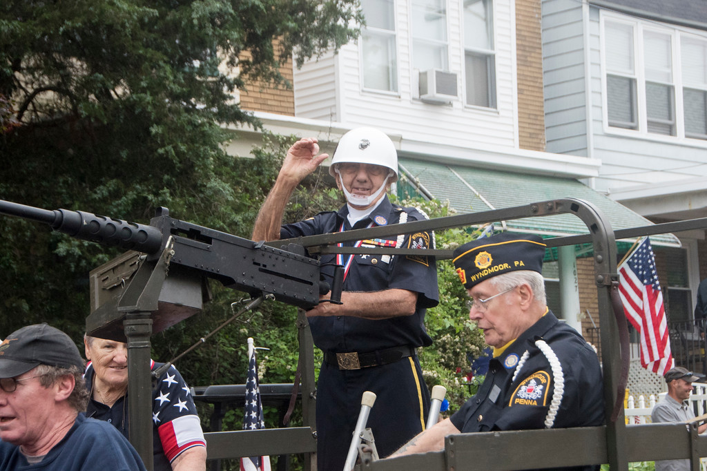 . The Arthur V. Savage American Legion Post 100 hosts its annual Memorial Day parade through the streets of Wyndmoor in Springfield Township May 28. Christine Wolkin � For Digital First Media