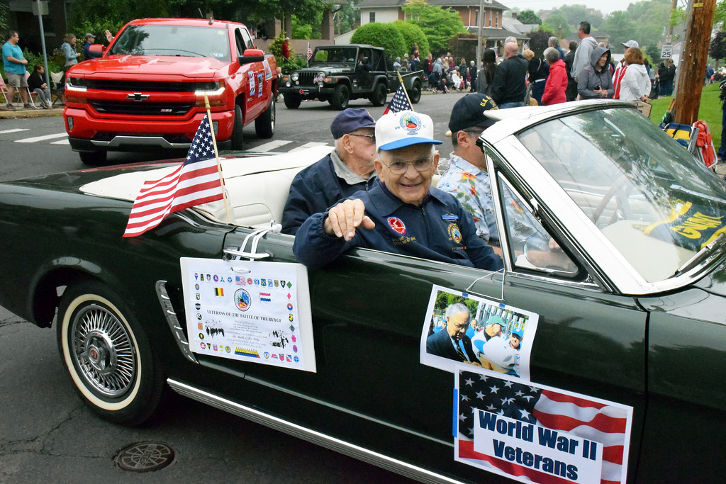 . The annual Pennridge Memorial Day Parade and Service are held in Perkasie Monday, May 28. Debby High - For Digital First Media
