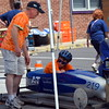 The 2017 Indian Valley Soap Box Derby takes over Main Street in Souderton Saturday, June 3.  Debby High — For Digital First Media