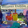 Carol Shultz and Tiffany Pompei, of Discover Dublin, man the organization's booth at the 18th annual Dublin Day Saturday, June 3.  Debby High — For Digital First Media