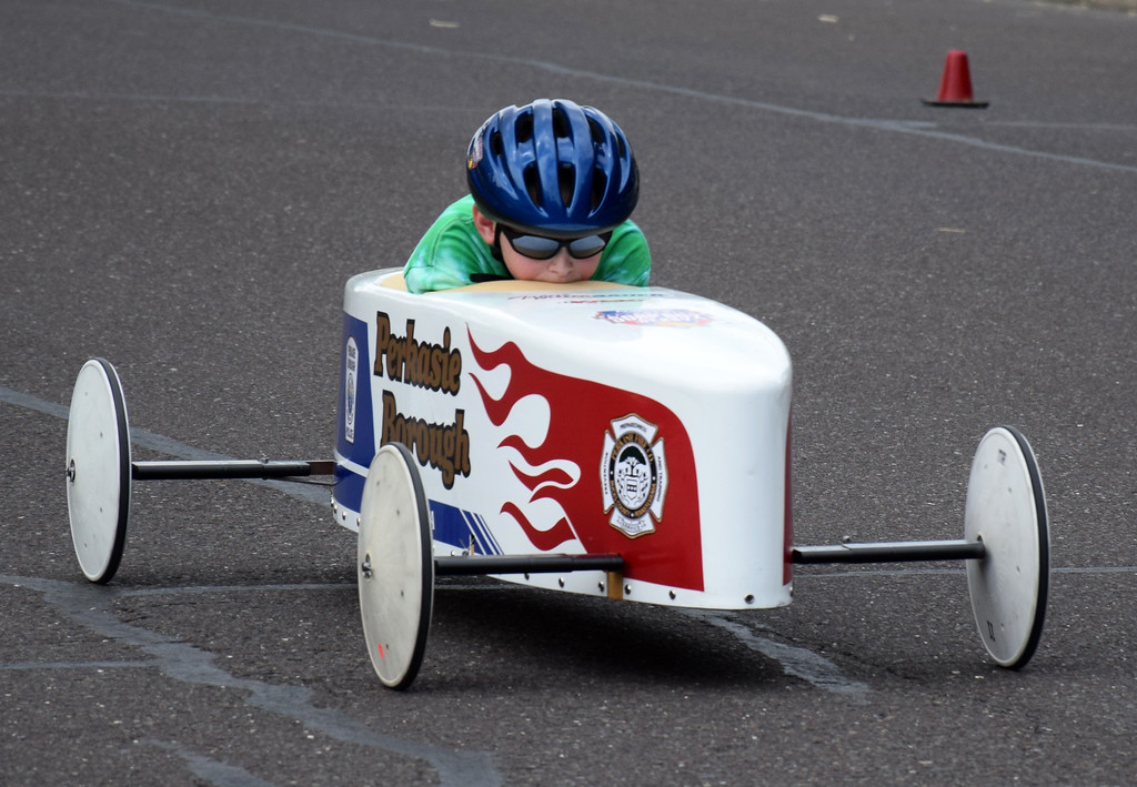 . The Indian Valley Soap Box Association holds its annual soap box derby in Perkasie for first time June 2. Debby High � For Digital First Media