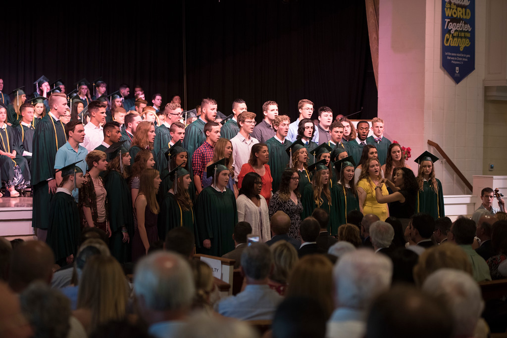 . Dock Mennonite Academy celebrates its Class of 2018 at its graduation ceremony on its campus Saturday, June 9.