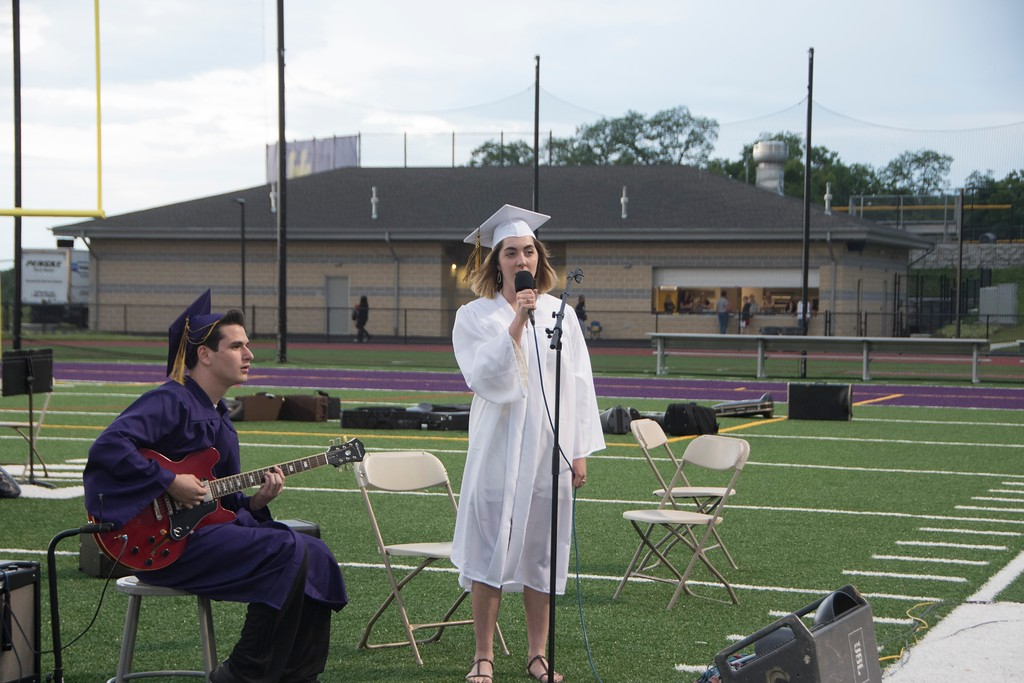 . Upper Moreland High School hands out diplomas to the Class of 2018 at the school�s graduation ceremony June 5. Christine Wolkin � For Digital First Media