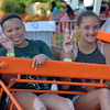 Attendees enjoy the Penn Valley Community Fair in Telford Thursday, June 15. Debby High - For Digital First Media