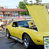 Bonnie Stroup's yellow 1977 Chevy Corvette caught the eye of both young and old car enthusiasts during Lansdale's Under the Lights Car Show Saturday, June 16.  Christine Wolkin - For Digital First Media