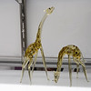 Some giraffe figurines are on display at the Mananyunk Arts Festival.  Rick Cawley — For Digital First Media