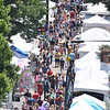 Attendees flock to Main Street for the Manayunk Arts Festival.  Rick Cawley — For Digital First Media