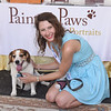 Alexandra Cech, of Painted Paws, poses with Sparkie.  Rick Cawley — For Digital First Media