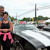 Greg and Andi Custer stand with their black-and-white corvette during the Greater Hatboro Chamber of Commerce's Cruise Night June 23.