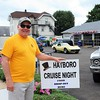 Bob Johnston, of Hatboro, comes out to enjoy the Greater Hatboro Chamber of Commerce's first Cruise Night of the summer along York Road June 23.