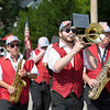 The Caesar Rodney Brass Band from Wilmington, Del., marches in the parade.  Rachel Wisniewski — For Digital First Media