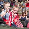 Little Miss Glenside and Little Mr. Glenside ride in the parade.  Rachel Wisniewski — For Digital First Media