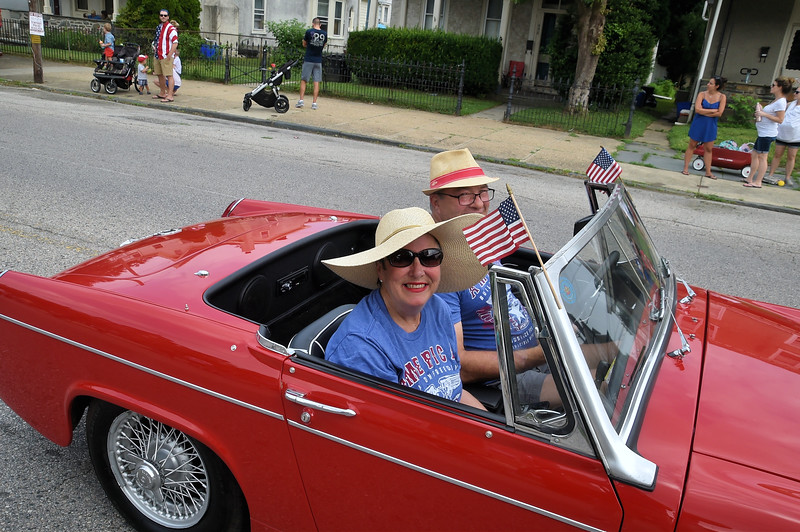 The 188th annual Independence Day Parade of Sunday Schools and Churches celebrates America's birthday in Roxborough July 4. Rick Cawley - For Digital First Media
