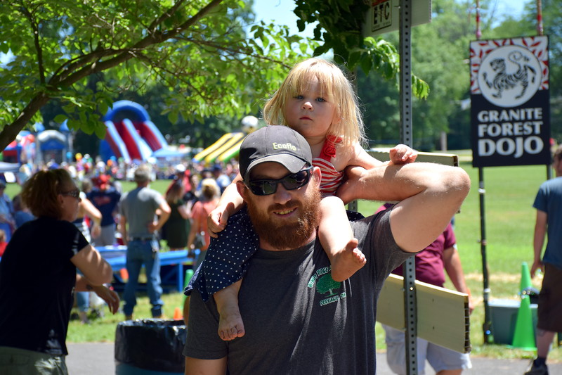 Local residents come out for a day of fun, games and fireworks during Pennridge Community Day July 8. Debby High - For Digital First Media