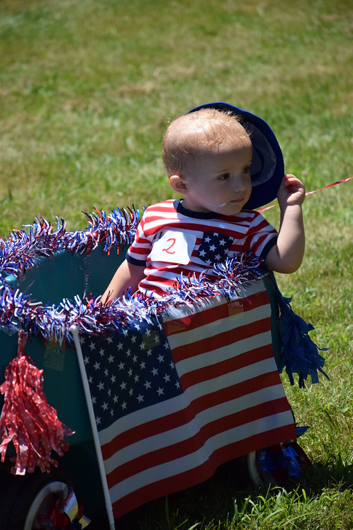 . Local residents come out for a day of fun, games and fireworks during Pennridge Community Day July 8. Debby High - For Digital First Media