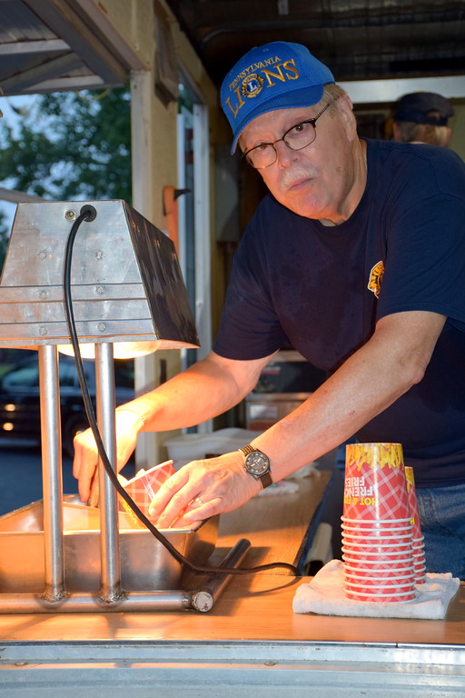 . The community comes out for the annual Dublin Fireman\'s Fair. Debby High - For Digital First Media