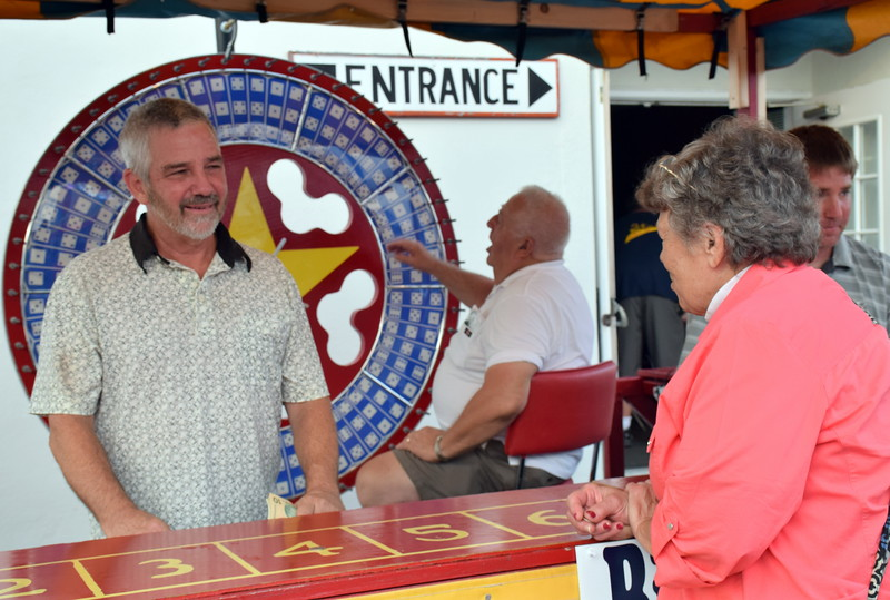 The community comes out for the annual Dublin Fireman's Fair. Debby High - For Digital First Media