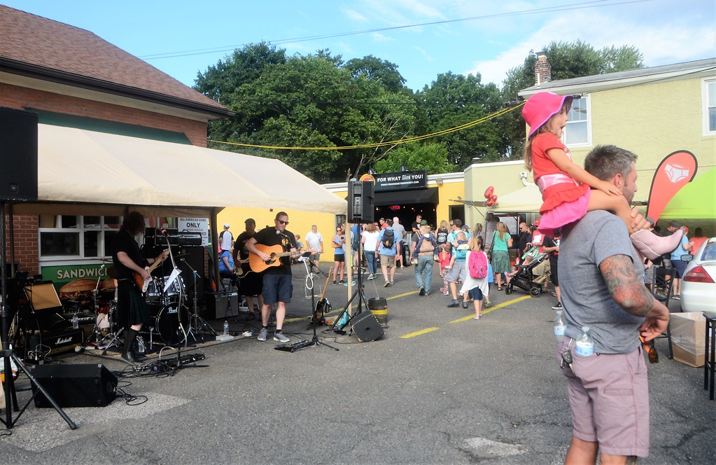 . Crooked Eye Brewery features live music and fresh brews during Hatboro�s 25th annual Moonlight Memories Car Show July 29.  Christine Wolkin � For Digital First Media