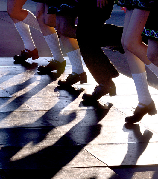 Fitzpatrick School of Irish Dance students demonstrate clogging at Souderton Community Night Aug. 8, 2017.  //  Bob Raines--Digital First Media