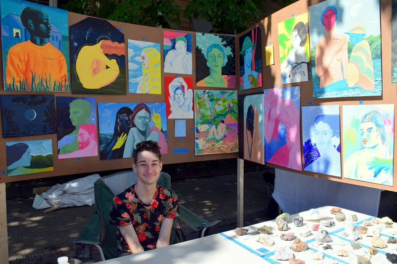The 50th annual Pennridge Gallery of the Arts takes over Sellersville Sunday, Sept. 16. Debby High - For Digital First Media